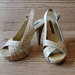 Chinese Laundry Slingback Heels Size 7.  1A07